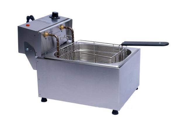 Imagem de Fritadeira Elétrica Profissional Aço Inox 5 Litros Edanca