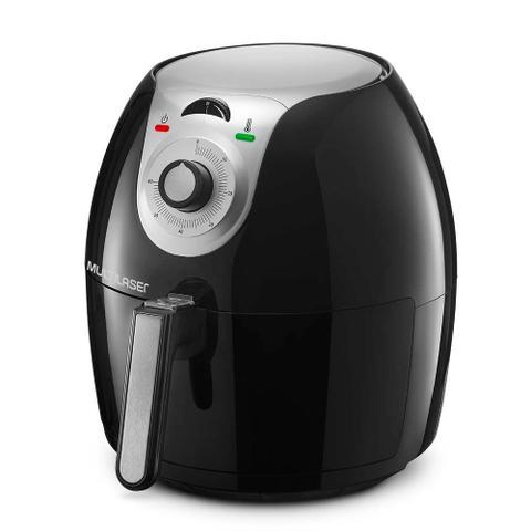 Imagem de Fritadeira Eletrica Sem Oleo Air Fryer 220V Gourmet 5,5L Preta Multilaser - Ce052