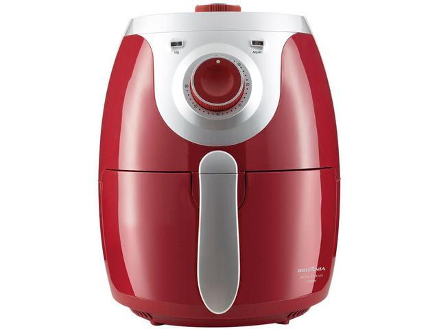 Imagem de Fritadeira Elétrica sem Óleo/Air Fryer Mondial - BFR14V Vermelha 4,2L com Timer