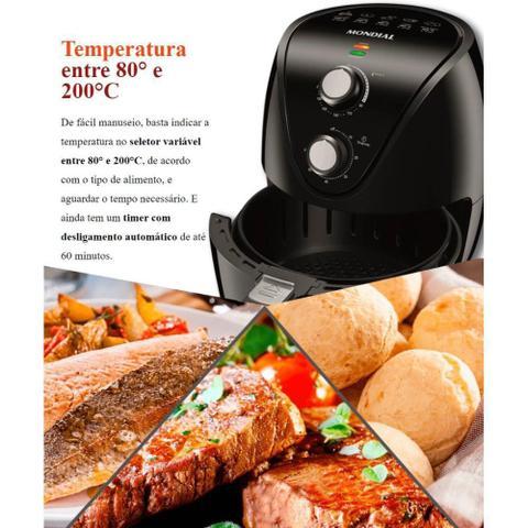 Imagem de Fritadeira Elétrica Sem Óleo Air Fryer Mondial New Pratic AF-31 3,5 Litros 1500W