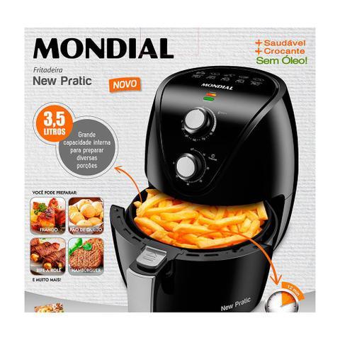 Imagem de Fritadeira Elétrica Sem Óleo Air Fryer New Pratic Mondial