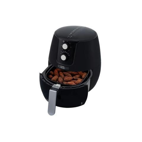 Imagem de Fritadeira elétrica sem oléo Black Decker 220v 5 litros preta