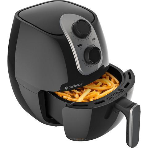 Imagem de Fritadeira Elétrica Sem Óleo Cadence Cook Fryer 2.6L 1250W Preta