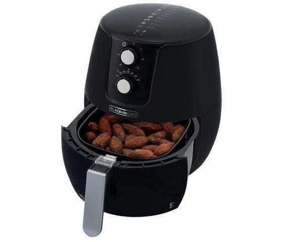 Imagem de Fritadeira elétrica sem óleo de 5 litros - afm5 - black+decker - Black&Decker
