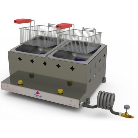 Imagem de Fritadeira Industrial Progás PR20G, 10 litros