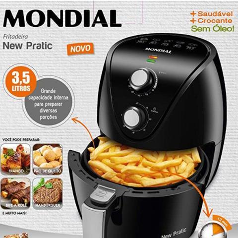 Imagem de Fritadeira New Pratic Mondial 3,5L AF 31 127V Preto
