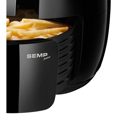 Imagem de Fritadeira S/ Óleo Air Fryer SEMP 3,5L 1.400W Programável AF3018PR