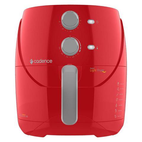 Imagem de Fritadeira Sem Óleo 3,2L Cadence Super Light Fryer Colors Vermelha 127V
