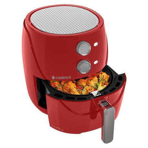 Imagem de Fritadeira Sem Óleo 3,2L Cadence Super Light Fryer Colors Vermelha