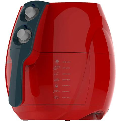 Imagem de Fritadeira Sem Óleo, Cadence Colors Vermelha, FRT541 127V