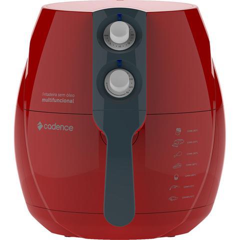 Imagem de Fritadeira Sem Óleo Cadence Perfect Fryer Colors Vermelha 127V