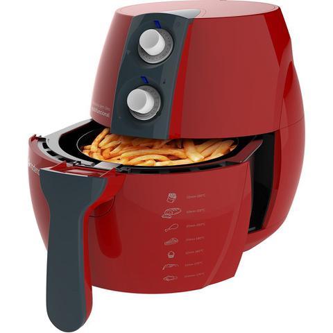 Imagem de Fritadeira Sem Óleo Colors Vermelha 127V Cadence