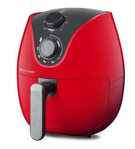 Imagem de Fritadeira Sem Óleo Multilaser Air Fryer 4l Gourmet Vermelha