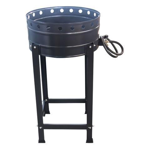 Imagem de Fritador Pasteleiro Tacho 45 Cm N18 A Gás 10 Litros Óleo Com Cavalete Alta Pressão - Itajobi Fogões