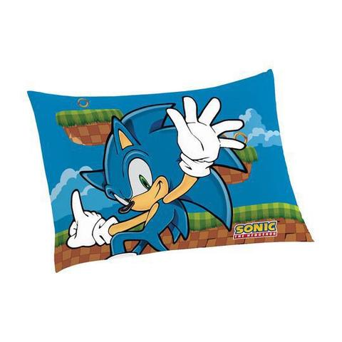 Imagem de Fronha Avulsa Infantil Estampada Sonic
