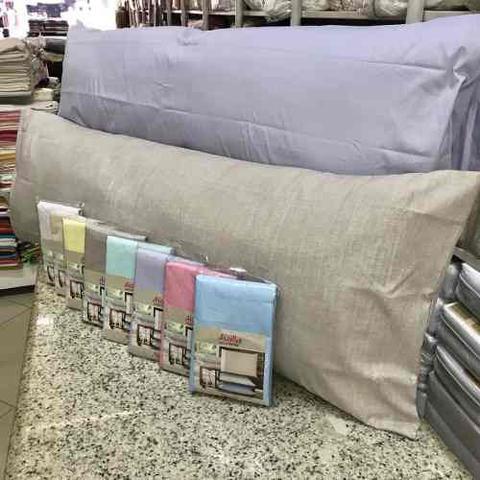 Imagem de Fronha Avulsa P/ Travesseiro Corpo 0,50x1,40m Gigante