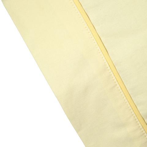 Imagem de Fronha para Travesseiro Infantil Total Mix Baby ARTEX - Baby - Amarelo Claro