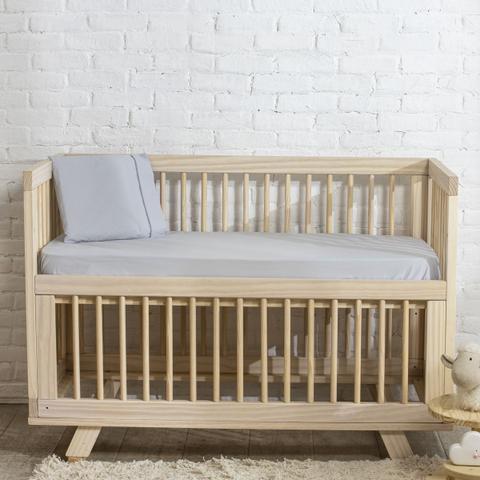 Imagem de Fronha para Travesseiro Infantil Total Mix Baby ARTEX - Baby - Cinza Claro