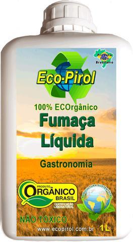 Imagem de Fumaça Líquida Ecopirol 1L Concentrado para Gastronomia