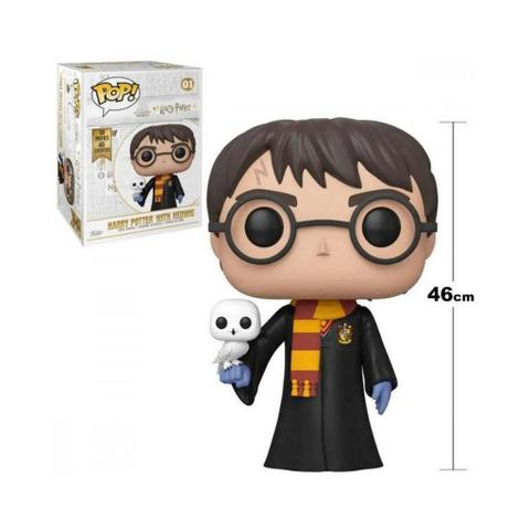 Imagem de Funko Pop 01 Harry Potter With Hedwig 46cm 18inches