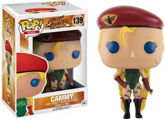 Imagem de Funko Pop 139 - Cammy - Street Fighter