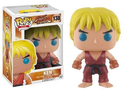 Imagem de Funko Pop! Games: Street Fighter - Ken 138