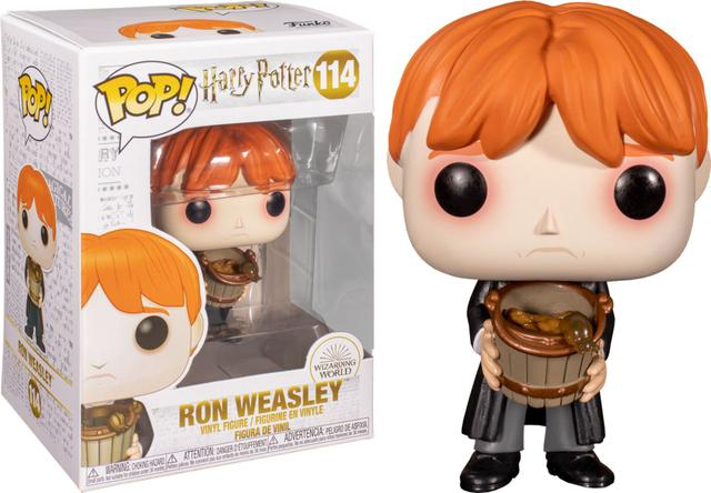 Imagem de Funko POP Harry Potter - Ron Weasley