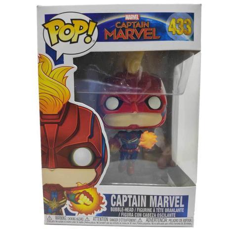 Imagem de Funko Pop Marvel Capitã Marvel - Brilha no Escuro 433