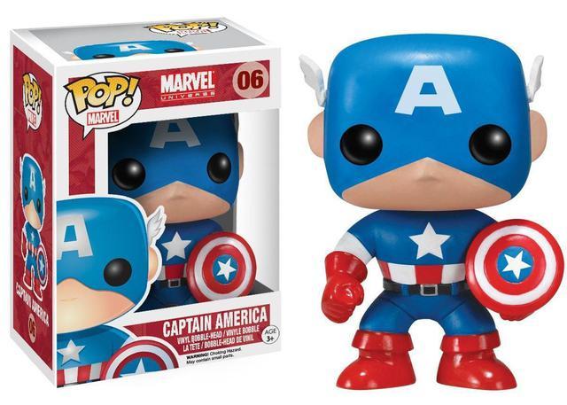 Imagem de Funko Pop! Marvel - Capitão América 06