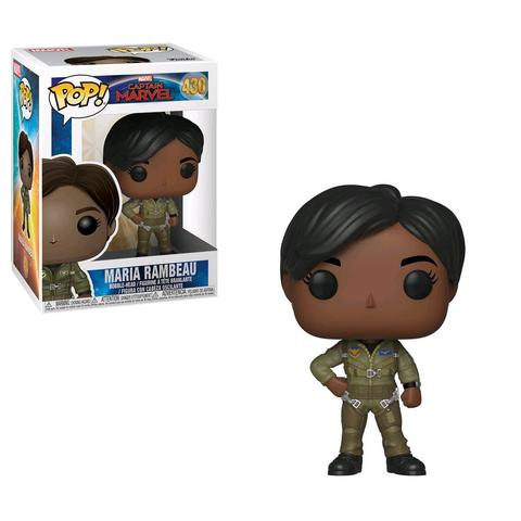 Imagem de Funko Pop Marvel: Captain Marvel-Maria Rambeau 430