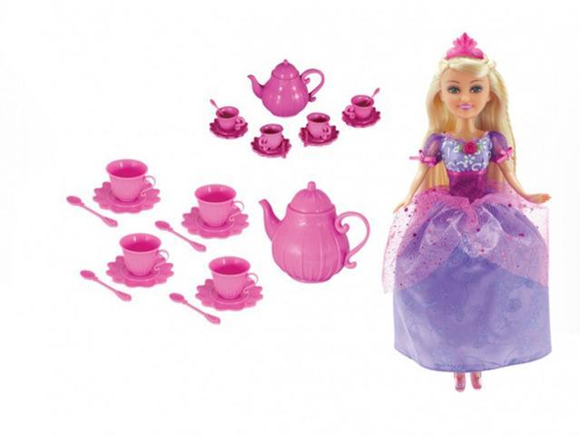 Imagem de Funville Sparkle Girlz - Conjunto de Chá e Fada Princesa - DTC