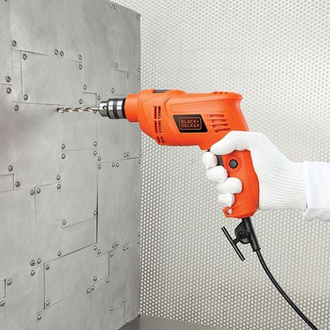 Imagem de Furadeira de Impacto Black Decker 110V + 4 Brocas Concreto