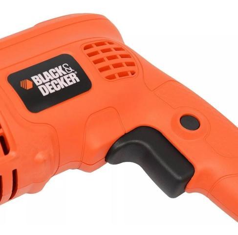 Imagem de Furadeira Impacto Black&Decker 560w TM500 110V + Kit ferramentas 129 peças