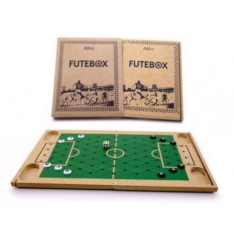 Imagem de Futebox -  Futebol de Botão -  Tabuleiro em Madeira - Mitra