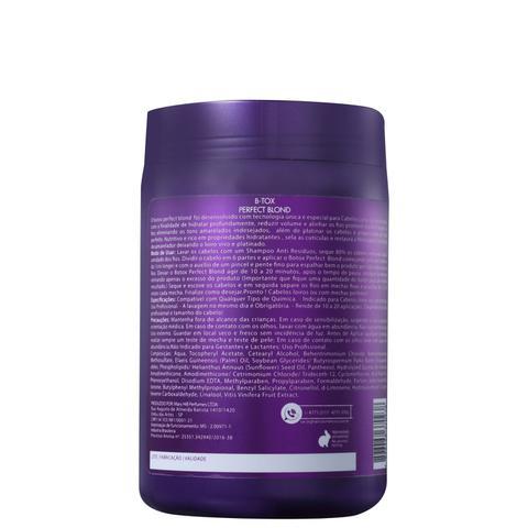 b4705ed0c G.Hair Perfect Blond BTox - Redutor de Volume 1000g - Progressiva ...