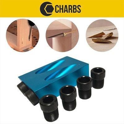 Imagem de Gabarito Para Furos Chanfrados 6 A 10mm Pocket Hole Jig