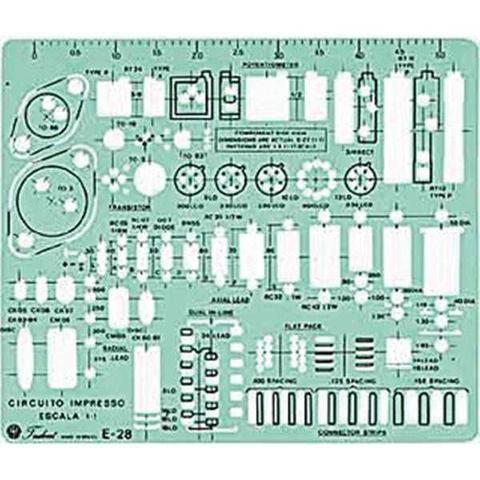 Imagem de Gabarito Trident E-28 Eletro Eletronico Trident Unidade