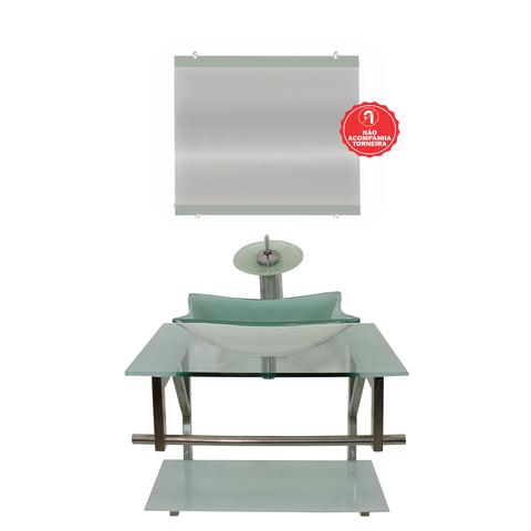 Imagem de Gabinete de Vidro 60cm para banheiro San Marino