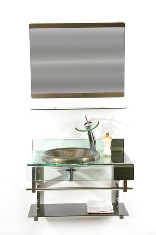 Imagem de Gabinete de Vidro 70cm para banheiro Turquia