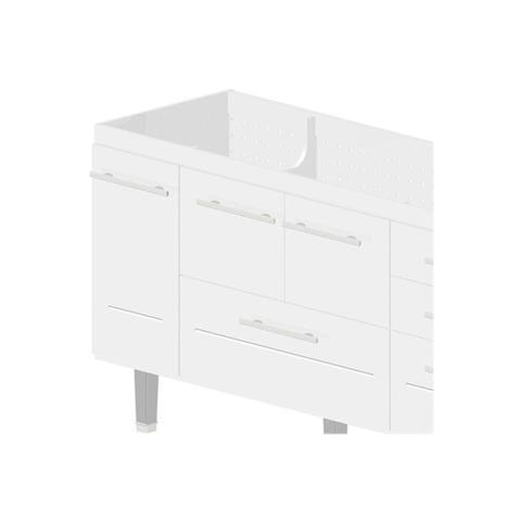 Imagem de Gabinete em Mdf Life para Pia de 180cm Branco