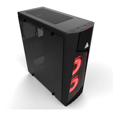 Imagem de Gabinete Gamer AZZA Blaze 231G Lateral de Vidro LED RGB, CSAZ-231G