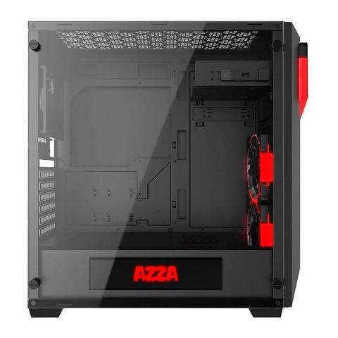 Imagem de Gabinete Gamer AZZA Inferno 310 Lateral de Vidro LED RGB, CSAZ-310