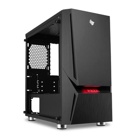 Imagem de Gabinete Gamer AZZA Luminous 110 Lateral de Vidro LED RGB, CSAZ-110