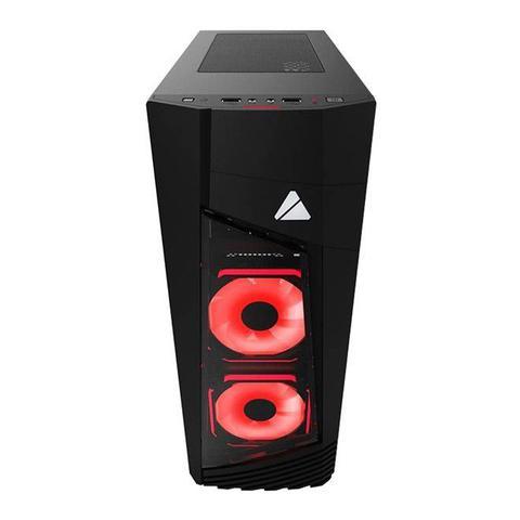 Imagem de Gabinete Gamer Blaze 231G RGB Fan Vidro Temperado BLAZE-231G Azza