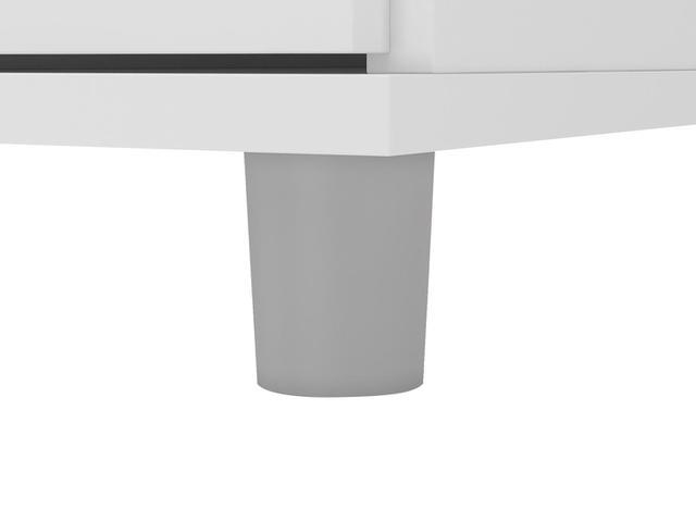 Imagem de Gabinete para Banheiro 2 Portas Revestido em BP