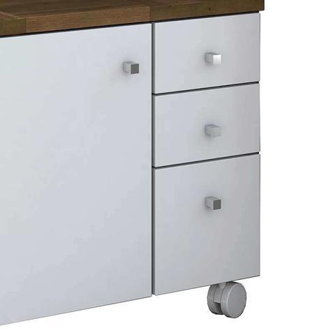Imagem de Gabinete para Banheiro com 1 Porta e 3 Gavetas Mimo - Móveis Albatroz