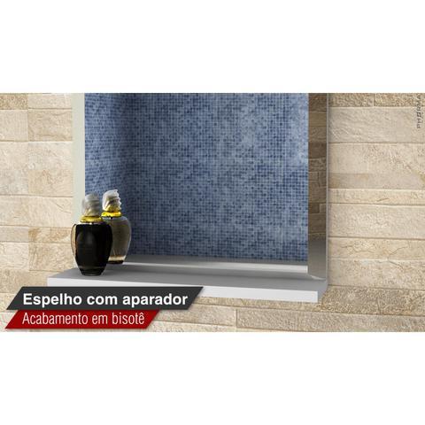 Imagem de Gabinete para Banheiro com Cuba e Espelheira Club Kit (Não Acompanha Torneira) Bumi Rosas