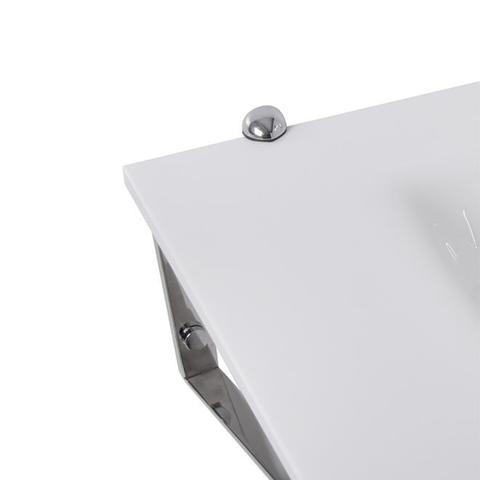 Imagem de Gabinete Para Banheiro De Vidro Apolo Astra GP-A Branco
