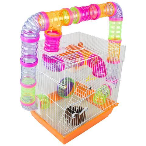 Imagem de Gaiola Labirinto para Hamster - 33x28x38 cm