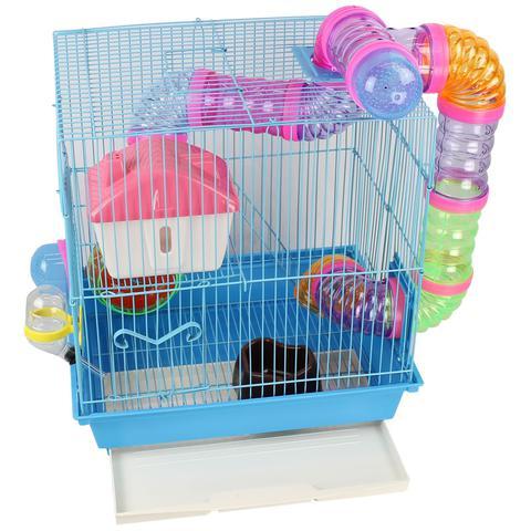 Imagem de Gaiola Labirinto para Hamster - 38x35x28 cm